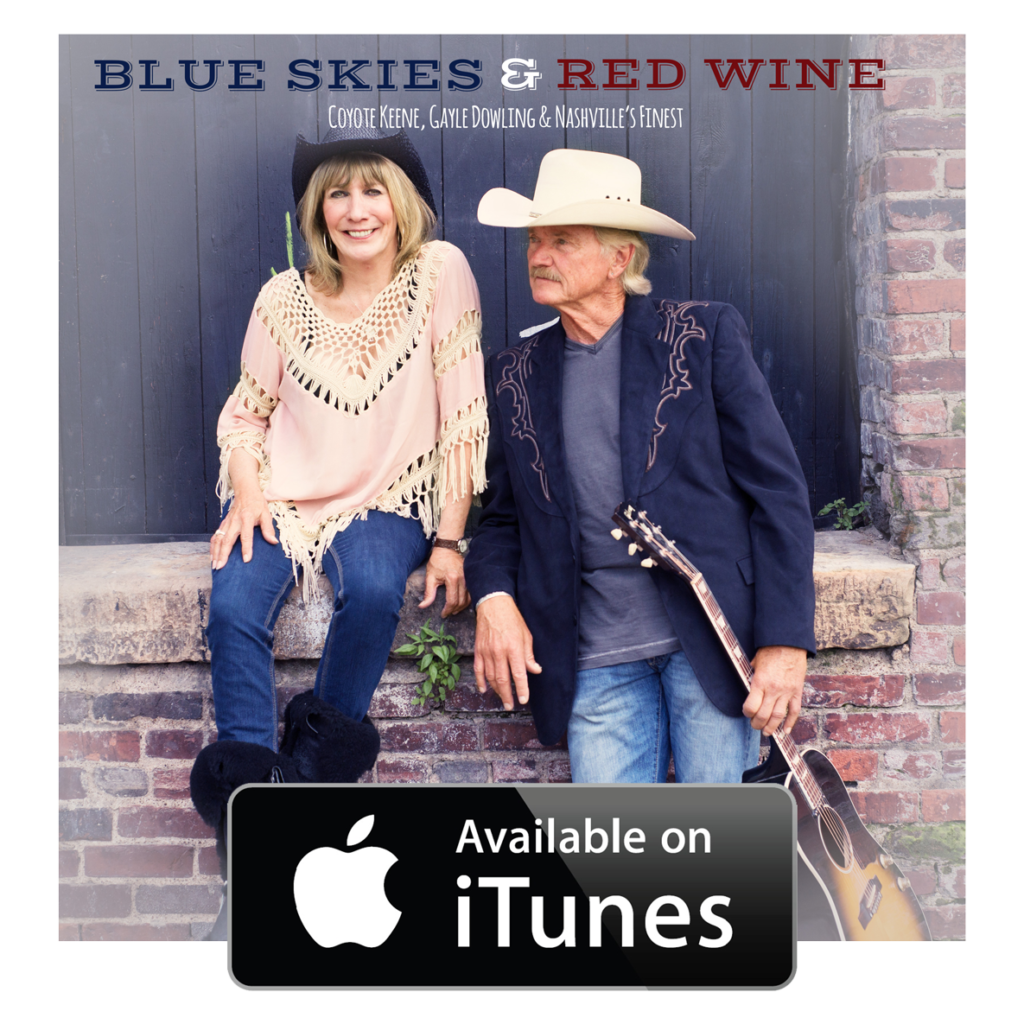 Blue Skies & Red Wine album available on iTunes