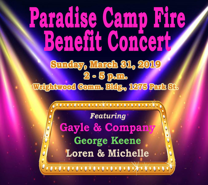 Paradise Camp Fire Benefit Concert Mountain Music